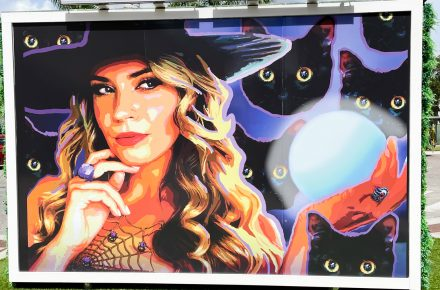 Spell-Binding New Mural Now On Display