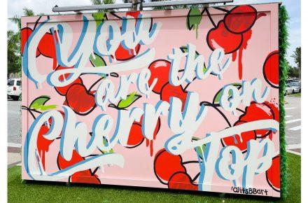 September Mural is Sweeter Than Cherry Pie