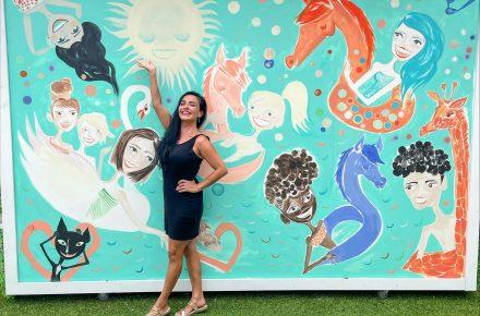 Sarasota Artist Makes A Splash At UTC